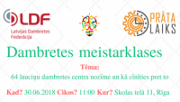 Pirmo reizi Latvijā: Dambretes meistarklases