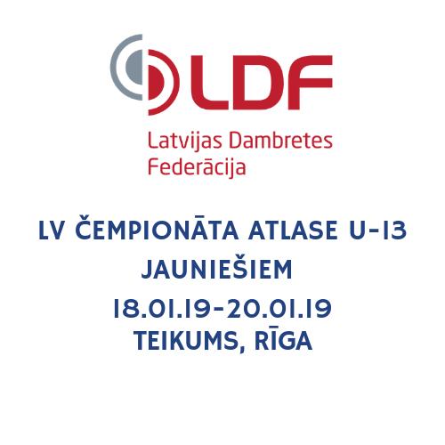Notiek Latvijas čempionāta atlase U-13