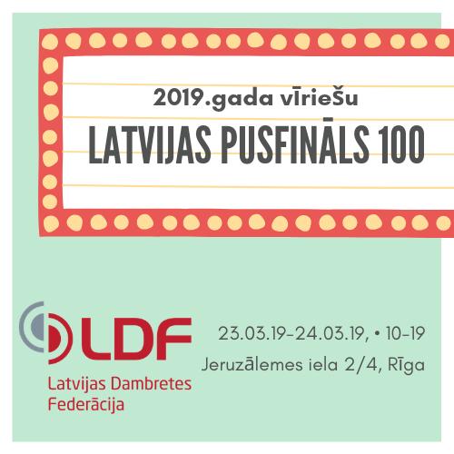 🙾 Noskaidroti visi finālisti LV čempionātam 100!