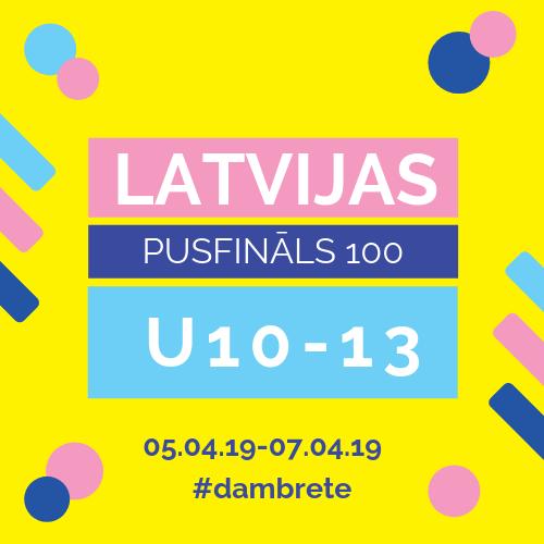 🗓️ Nolikums: LV jauniešu pusfināls 100 lauciņu dambretē U10-13