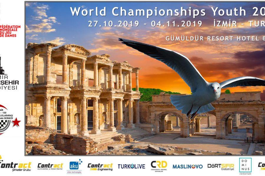 🇹🇷Noslēdzies Pasaules čempionāts jauniešiem 100 lauciņu dambretē