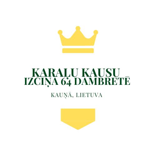 Pirmo reizi vēsturē: Karaļu kausa izcīņa dambretē (Balvu fonds 3000,- Euro)
