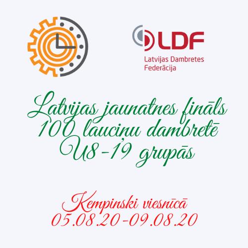 Notiek LV jauniešu fināls 100 lauciņu dambretē (pievienoti elektroniskie galdiņi U16, U13 @14:10)