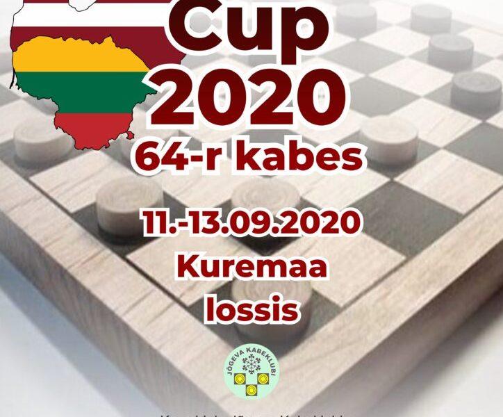 Baltijas čempionāts 64 lauciņu dambretē ir noslēdzies! (atjaunots)