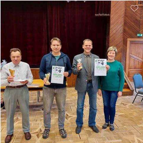 Gandrīz populārākais dambretes turnīrs Latvijā